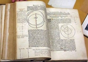 Annotated page of Copernicus' work.